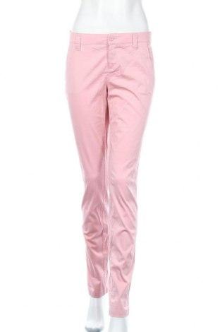 Dámské kalhoty  Flg, Velikost S, Barva Růžová, 97% bavlna, 3% elastan, Cena  172,00Kč