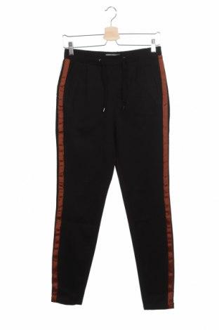 Дамски панталон Free Quent, Размер XS, Цвят Черен, 65% полиамид, 30% вискоза, 5% еластан, Цена 26,70лв.