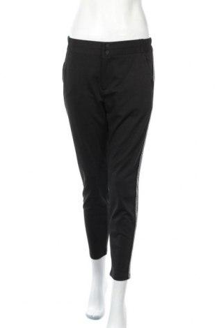Дамски панталон Free Quent, Размер S, Цвят Черен, 73% полиестер, 24% вискоза, 3% еластан, Цена 27,65лв.