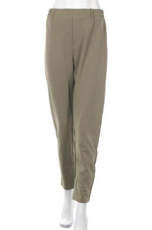 Дамски панталон Free Quent, Размер XL, Цвят Зелен, 95% полиестер, 5% еластан, Цена 30,36лв.