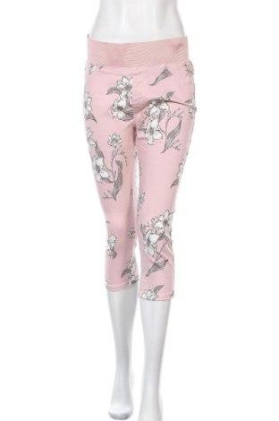 Дамски панталон Free Quent, Размер L, Цвят Многоцветен, 64% памук, 34% полиестер, 2% еластан, Цена 21,74лв.