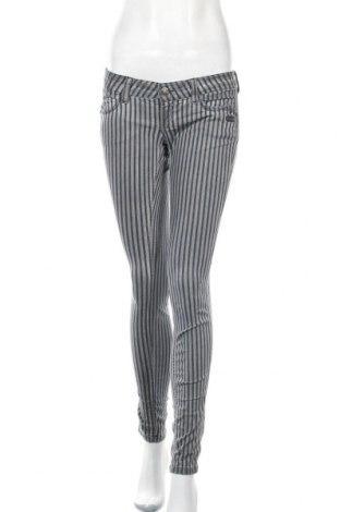 Дамски панталон Gang, Размер S, Цвят Сив, 97% памук, 3% еластан, Цена 39,90лв.