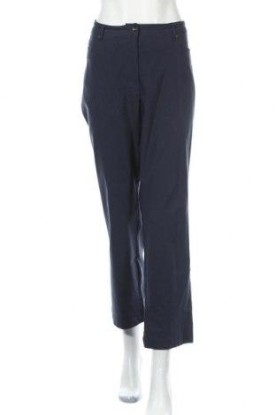 Γυναικείο παντελόνι Gina Laura, Μέγεθος XXL, Χρώμα Μπλέ, Τιμή 15,79€