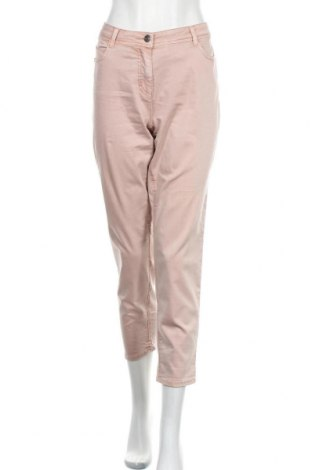 Γυναικείο παντελόνι Gina Laura, Μέγεθος XL, Χρώμα Ρόζ , 64% βαμβάκι, 33% πολυεστέρας, 3% ελαστάνη, Τιμή 17,28€