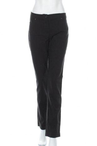 Γυναικείο παντελόνι Gina Laura, Μέγεθος L, Χρώμα Μαύρο, 77% βισκόζη, 21% πολυαμίδη, 2% ελαστάνη, Τιμή 14,81€