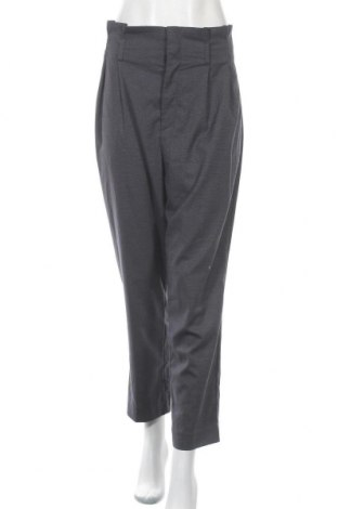 Дамски панталон H&M, Размер L, Цвят Син, 67% полиестер, 31% вискоза, 2% еластан, Цена 16,17лв.