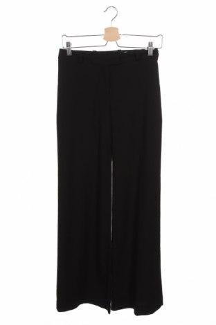 Дамски панталон H&M, Размер XS, Цвят Черен, 62% полиестер, 36% вискоза, 2% еластан, Цена 11,08лв.