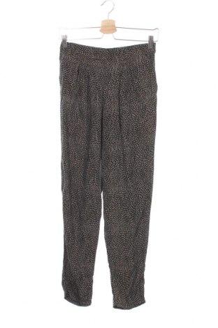 Дамски панталон H&M, Размер XS, Цвят Черен, Вискоза, Цена 4,59лв.