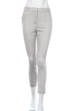 Дамски панталон H&M, Размер S, Цвят Сив, 61% памук, 36% полиестер, 3% еластан, Цена 25,94лв.
