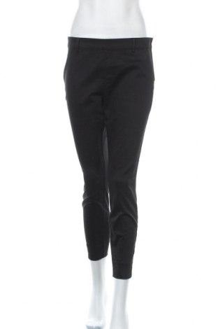 Дамски панталон H&M, Размер M, Цвят Черен, 64% памук, 33% полиестер, 3% еластан, Цена 28,35лв.