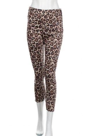 Дамски панталон H&M, Размер M, Цвят Многоцветен, 61% памук, 36% полиестер, 3% еластан, Цена 5,80лв.