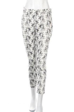Дамски панталон H&M, Размер M, Цвят Бял, 65% памук, 33% полиестер, 2% еластан, Цена 8,99лв.