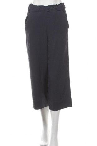 Дамски панталон H&M, Размер S, Цвят Син, 96% полиестер, 4% еластан, Цена 7,62лв.