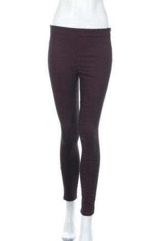 Γυναικείο παντελόνι H&M Divided, Μέγεθος S, Χρώμα Βιολετί, 67% βαμβάκι, 31% πολυεστέρας, 2% ελαστάνη, Τιμή 14,19€