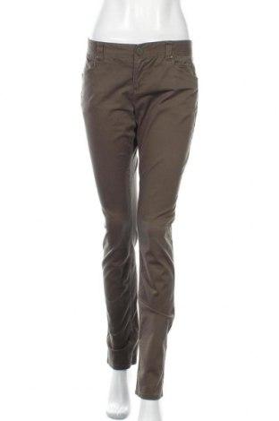 Γυναικείο παντελόνι H&M Divided, Μέγεθος M, Χρώμα Πράσινο, 97% βαμβάκι, 3% ελαστάνη, Τιμή 13,64€