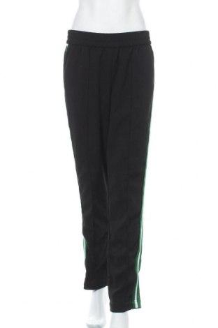 Дамски панталон Hallhuber, Размер M, Цвят Черен, 97% полиестер, 3% еластан, Цена 14,68лв.