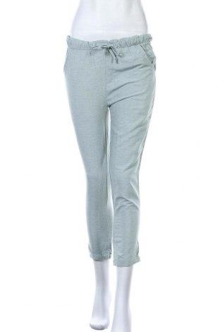 Дамски панталон Icon Apparel, Размер M, Цвят Зелен, 52% памук, 48% вискоза, Цена 16,38лв.
