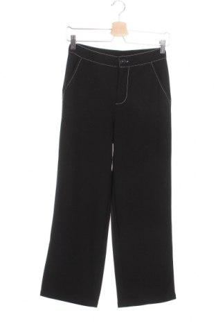 Дамски панталон Jacqueline De Yong, Размер XS, Цвят Черен, 95% полиестер, 5% еластан, Цена 17,59лв.