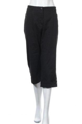 Дамски панталон Karen Scott, Размер XL, Цвят Черен, 98% памук, 2% еластан, Цена 24,57лв.