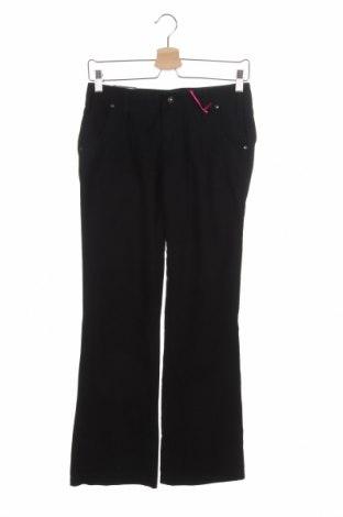 Дамски панталон Kenvelo, Размер XS, Цвят Черен, Памук, Цена 3,00лв.