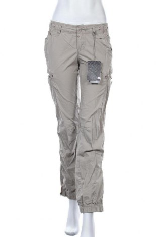 Дамски панталон Kenvelo, Размер S, Цвят Бежов, Памук, Цена 13,60лв.