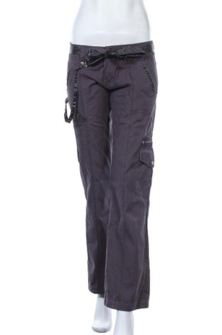 Дамски панталон Kenvelo, Размер S, Цвят Сив, Памук, Цена 39,90лв.