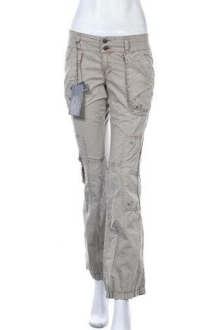 Дамски панталон Kenvelo, Размер S, Цвят Бежов, Памук, Цена 38,90лв.