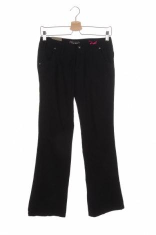 Дамски панталон Kenvelo, Размер S, Цвят Черен, Памук, Цена 33,60лв.