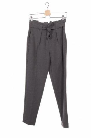 Дамски панталон Kiomi, Размер XS, Цвят Сив, 65% полиестер, 35% вискоза, 5% еластан, Цена 26,66лв.