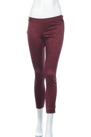 Дамски панталон Laura T., Размер XS, Цвят Червен, 68% памук, 30% полиестер, 2% еластан, Цена 12,71лв.