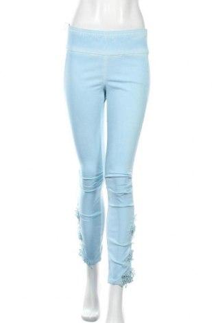 Γυναικείο παντελόνι Linea Tesini, Μέγεθος S, Χρώμα Μπλέ, 80% βισκόζη, 17% πολυαμίδη, 3% ελαστάνη, Τιμή 18,84€