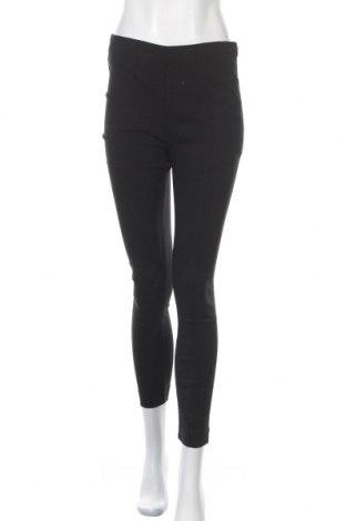 Dámské kalhoty  Mango, Velikost L, Barva Černá, 76% viskóza, 21% polyamide, 3% elastan, Cena  383,00Kč