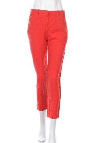 Dámské kalhoty  Mango, Velikost S, Barva Červená, 50% polyester, 30% viskóza, 20% len, Cena  407,00Kč
