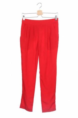 Дамски панталон Mango, Размер S, Цвят Червен, Цена 27,30лв.