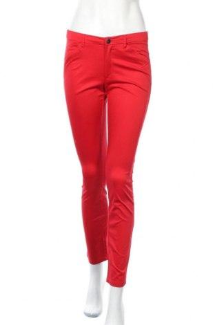 Дамски панталон Mango, Размер S, Цвят Червен, 97% памук, 3% еластан, Цена 29,40лв.