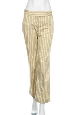 Дамски панталон Mango, Размер M, Цвят Бежов, 64% памук, 33% полиестер, 3% еластан, Цена 7,40лв.