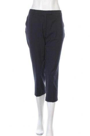 Dámské kalhoty  Marks & Spencer Autograph, Velikost L, Barva Modrá, 44% polyester, 40% vlna, 10% hedvábí, 6% elastan, Cena  455,00Kč