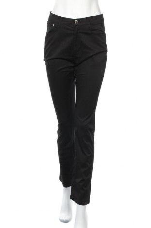 Дамски панталон Max&liu, Размер S, Цвят Черен, 98% памук, 2% еластан, Цена 7,16лв.