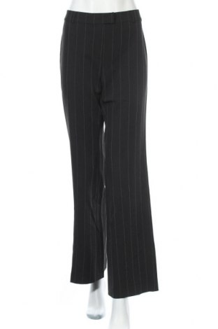 Дамски панталон Miss H., Размер M, Цвят Черен, 93% полиестер, 6% еластан, 1% вискоза, Цена 5,37лв.