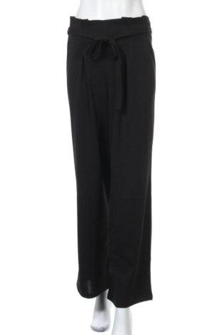 Дамски панталон Miss Selfridge, Размер M, Цвят Черен, 96% полиестер, 4% еластан, Цена 22,88лв.