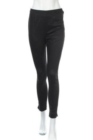 Дамски панталон Mtwtfss Weekday, Размер S, Цвят Черен, 63% памук, 34% полиестер, 3% еластан, Цена 6,84лв.