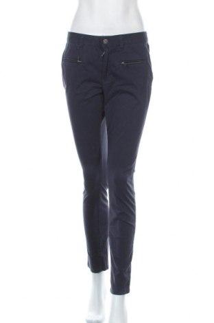 Дамски панталон My Blue by Tchibo, Размер M, Цвят Син, 74% памук, 23% вискоза, 3% еластан, Цена 23,10лв.