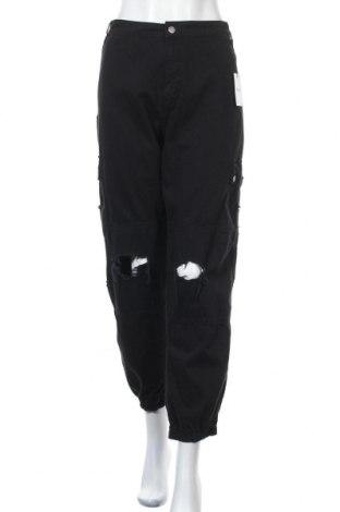 Дамски дънки New Look, Размер XL, Цвят Черен, Памук, Цена 44,25лв.
