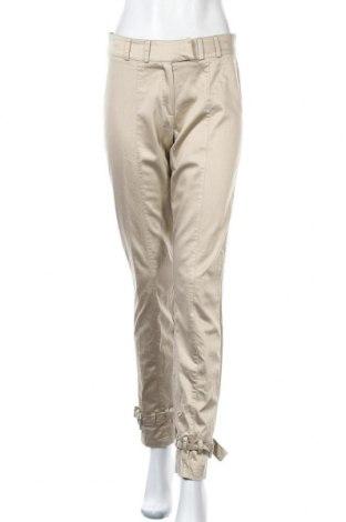 Дамски панталон Nicowa, Размер M, Цвят Бежов, 55% вискоза, 42% памук, 3% еластан, Цена 9,36лв.