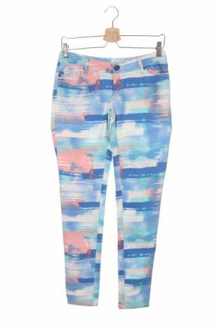 Дамски панталон Now, Размер M, Цвят Многоцветен, Памук, полиестер, еластан, Цена 9,24лв.