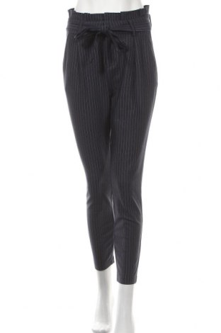 Дамски панталон ONLY, Размер S, Цвят Син, 63% вискоза, 32% полиамид, 5% еластан, Цена 20,90лв.