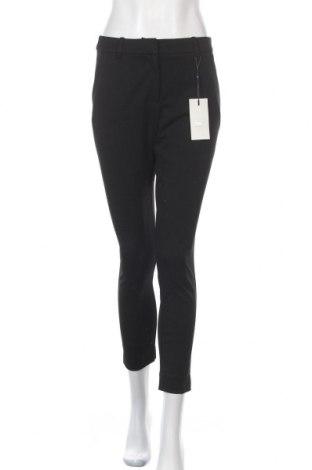 Дамски панталон ONLY, Размер L, Цвят Черен, 68% полиестер, 28% вискоза, 4% еластан, Цена 26,36лв.