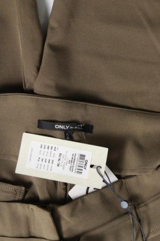 Дамски панталон ONLY, Размер XL, Цвят Зелен, 87% полиестер, 13% еластан, Цена 20,22лв.