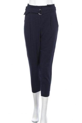 Дамски панталон ONLY, Размер S, Цвят Син, 97% полиестер, 3% еластан, Цена 51,75лв.