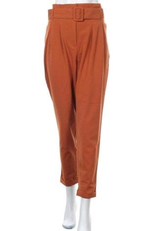 Дамски панталон ONLY, Размер M, Цвят Оранжев, 63% полиестер, 33% вискоза, 4% еластан, Цена 33,81лв.